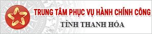 Trung tâm phục vụ HCC tỉnh Thanh Hóa